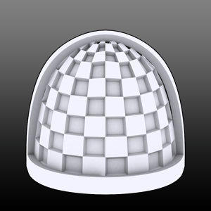 Chequered Shoulderpads