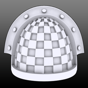 Chequered Veteran Shoulderpads