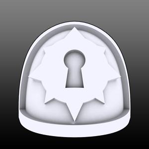 Keyhole Star Shoulderpads