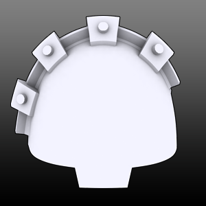 Large Cogs Shoulderpads (R)