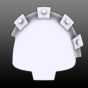 Large Cogs Shoulderpads (L)