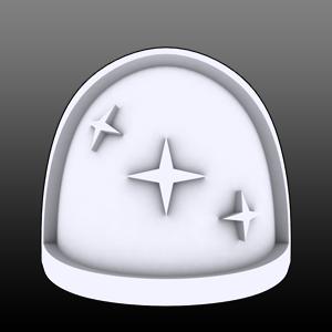 3 Stars Shoulderpads