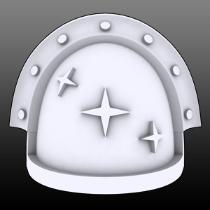 3 Stars Veteran Shoulderpads